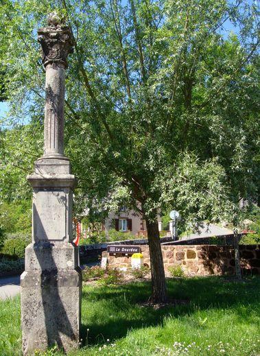La stèle en hommage à Raymond Poincaré