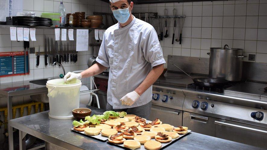 Alexandre Costes du restaurant du Centre.