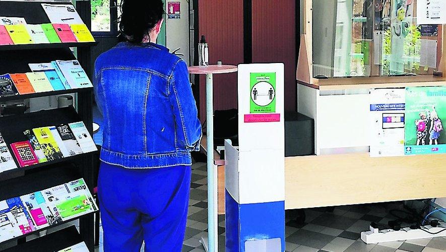 Les bureaux ont rouvert dans des conditions sanitaires particulières permettant la sécurité de tous.