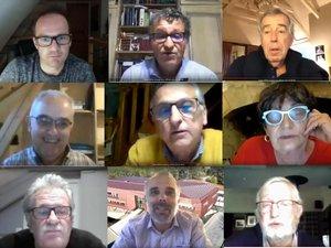 Le conseil communautaire s'est réuni, pour la première fois, en visioconférence.
