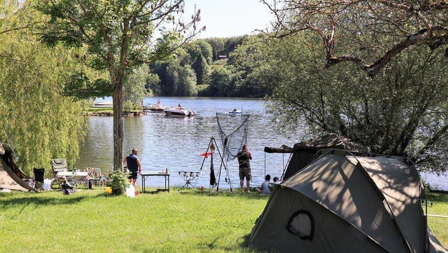 Les pêcheurs ont été contrôlés autour du lac de Pareloup.