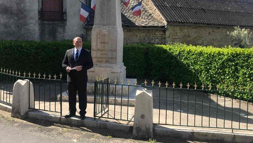 Commémoration du 8 mai à St Martin de Lenne