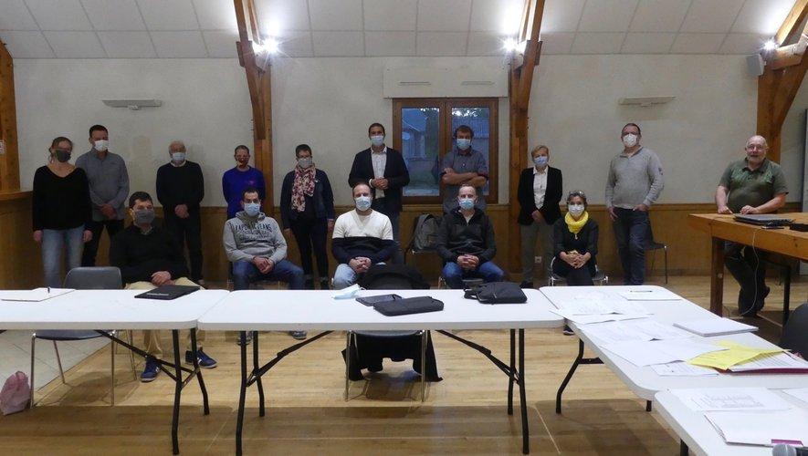 Les élus du conseil municipal.