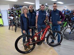 Chez Boutonnet cycles comme dans de nombreuses boutiques du département, l'activité est bien repartie depuis la fin du confinement.