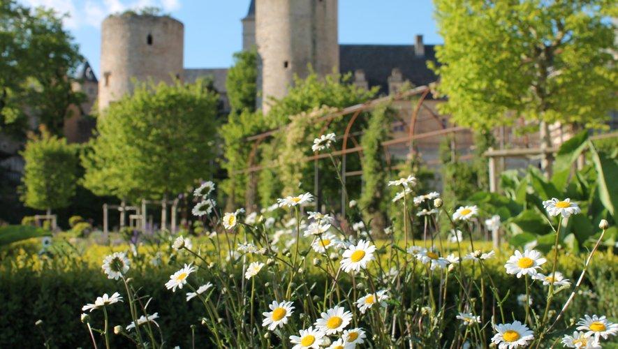 """Le jardin du château a été classé """"jardin remarquable""""."""