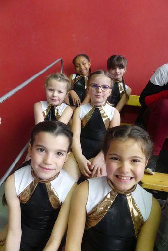 Les jeunes gymnastes de l'Alerte s'étaient qualifiées pour la finale régionale.