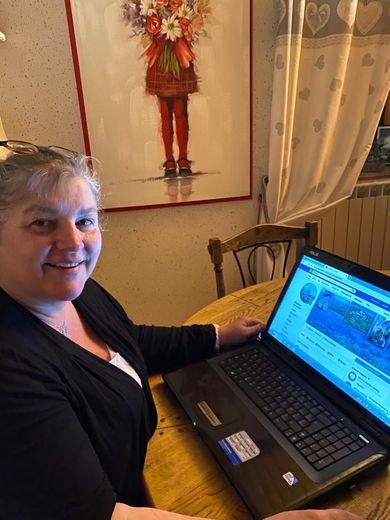 Patricia, fidèle à sa mission, peut publier vos infos.