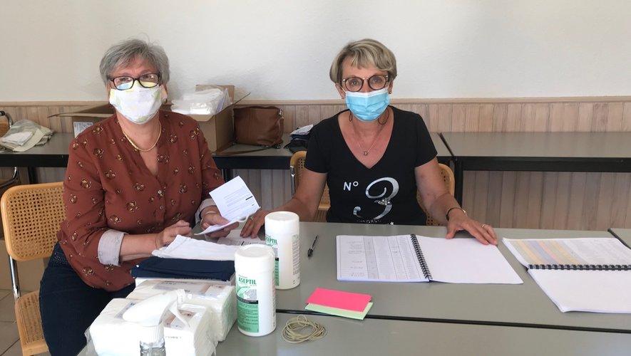 Annette et Martine méconnaissables sous leur masque!