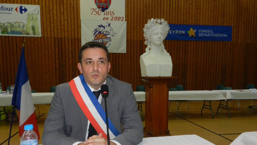 Jean-Sébastien Orcibal a été élu maire lundi 25 mai.