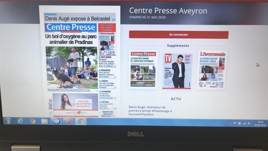 Le journal numérique est désormais disponible.