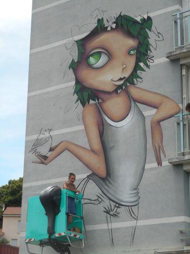 Vinie Graffiti dans ses œuvres.