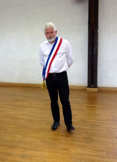 Yves Bioulac maire de Saint-Saturnin-de-Lenne.
