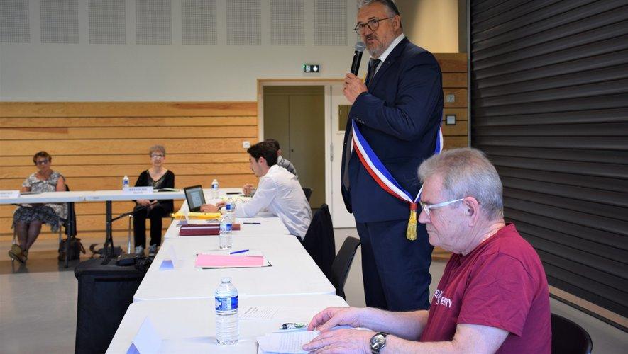 Jacques Barbezange en route pour un nouveau mandat.