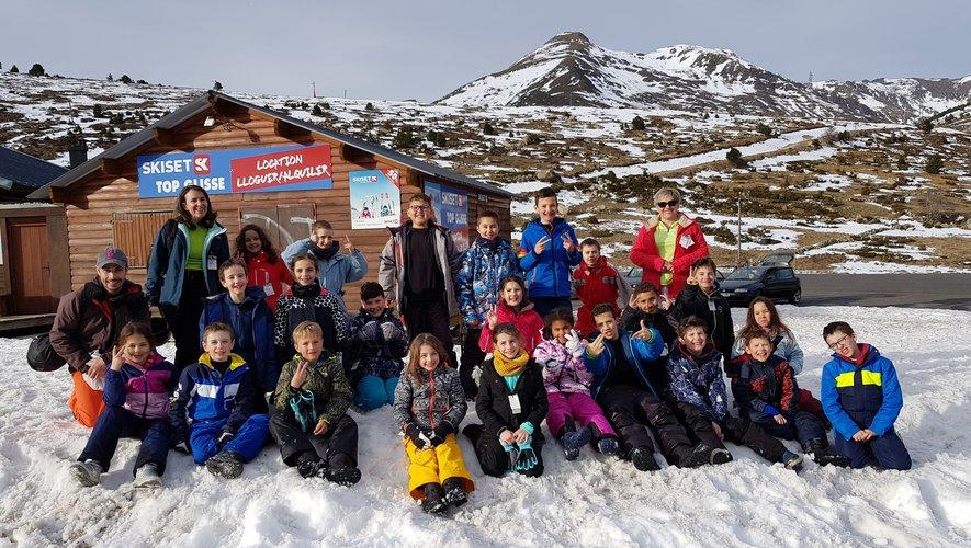 Les écoliers de Jacques-Prévert ont profité d'une classe de neige juste avant le confinement