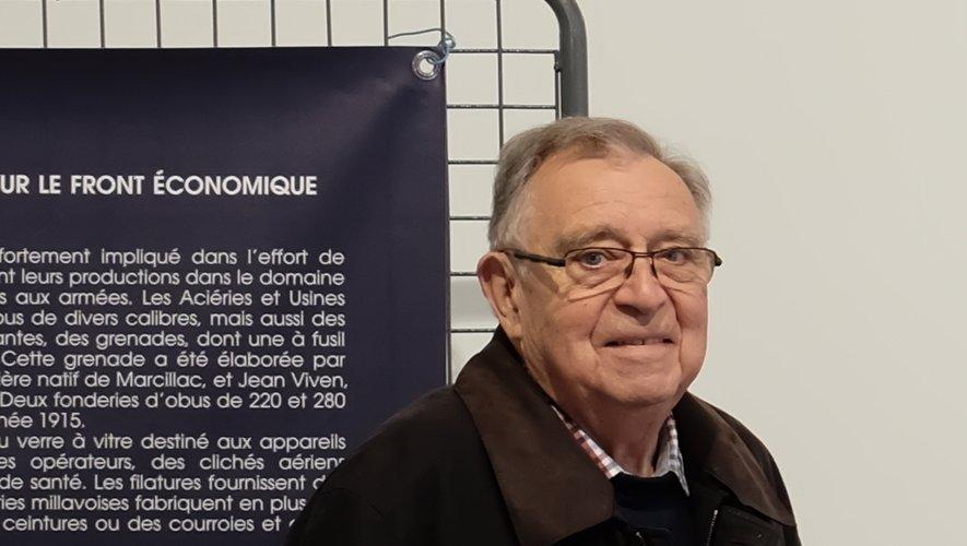 Jean-Pierre Huguet totalement investi pour le devoir de mémoire.