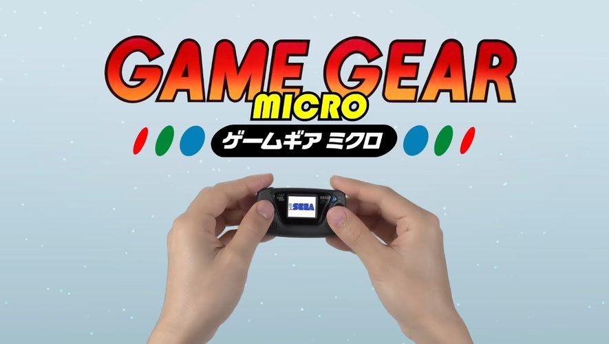 Sega a annoncé la sortie de sa Game Gear Micro au Japon pour octobre 2020.