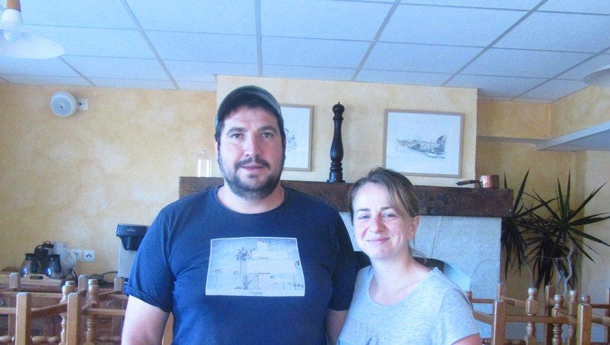 Alexis et sa compagne Anne-Lise.