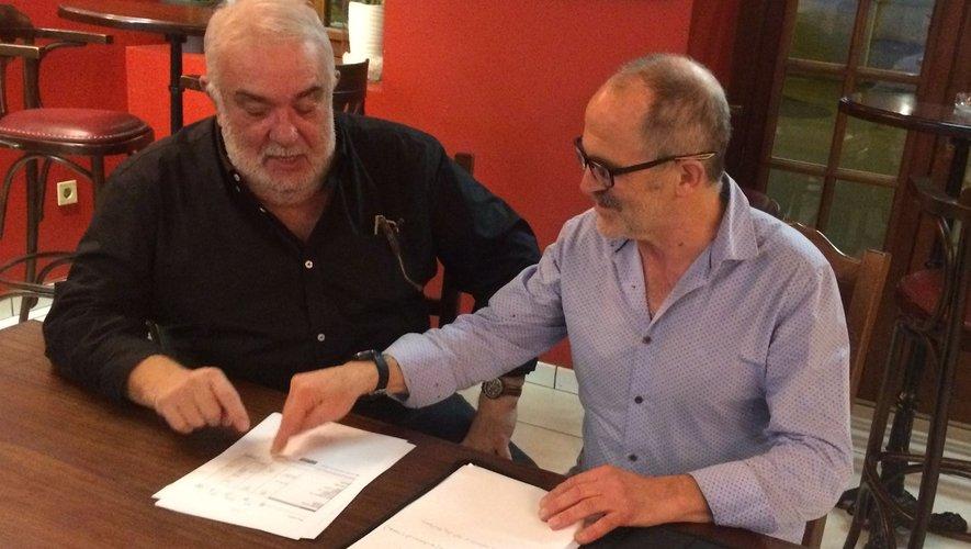 Les deux coprésidents Patrick Malpel et Christian Murat.