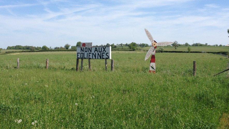 L'Association A Contre Vent toujours mobilisée contre le projet éolien.