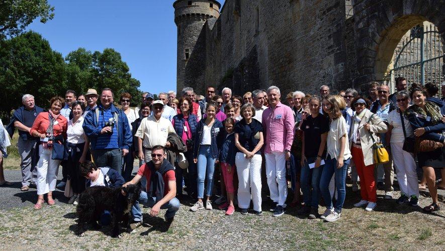 La rencontre estivale 2019 de la Fédération des Aveyronnais d'ici et d'ailleurs avait été orchestrée de main de maître par l'amicale de Laissac avec, notamment, la visite du château des Bourines situé sur la commune de Bertholène.