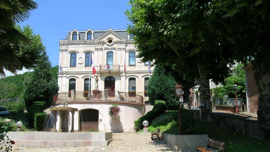 L'Hôtel de ville aubinois.