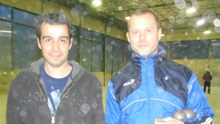 Christophe Grès et Stewe Marzin deux joueurs à fort potentiel.