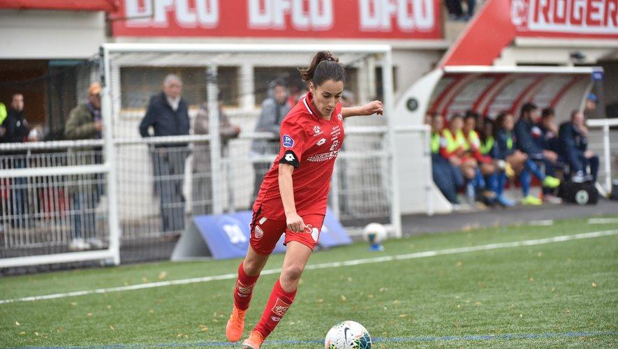 Solène Barbance a pris part aux seize matches de la saison 2019-2020 (écourtée), dont douze comme titulaire, avec Dijon en D1 ! Vincent Poyer (DFCO)