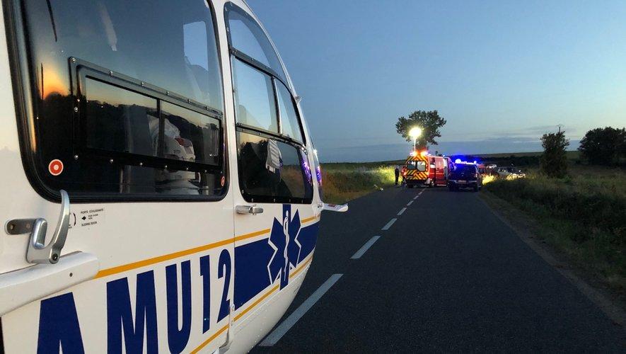 Les victimes de cet accident sont trois jeunes de 19 ans, dont deux ont dû être héliportés vers l'hôpital de Purpan.