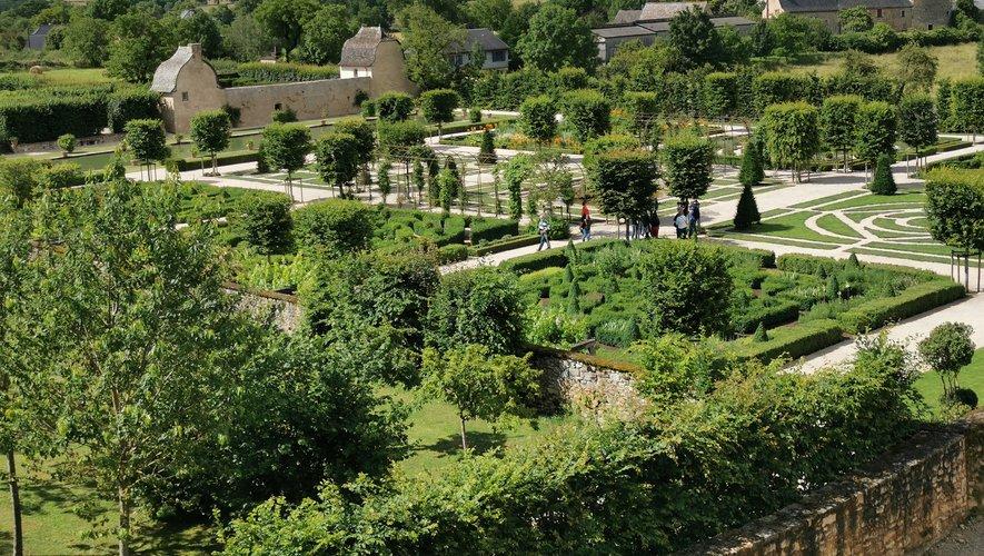 """Le jardin du château est classé """"remarquable""""."""