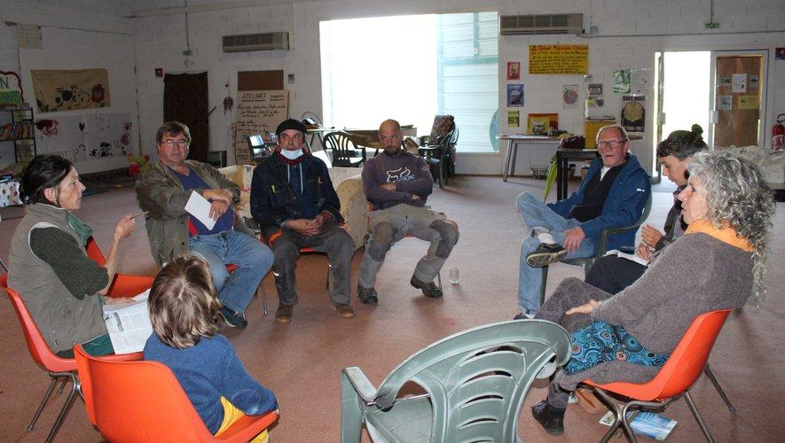 Pour le collectif, aller à la rencontre des Villefranchois s'avère primordial./Photo DD