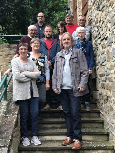 Nouveau conseil municipal de Brousse (absente sur la photo : Mme Reynes).