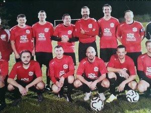 L'équipe 2 qui évolue à Anglars.