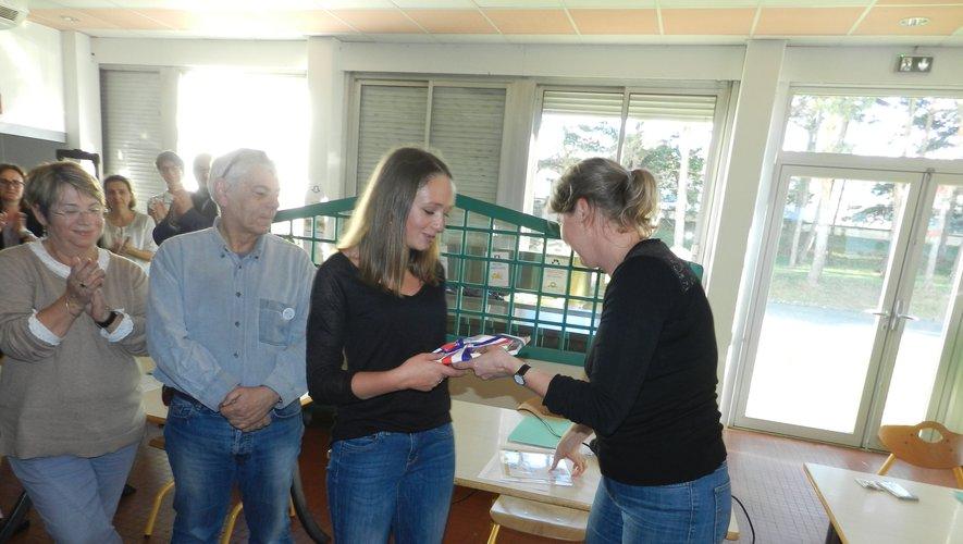 La jeune Mathilde Castelnau à nouveau  à l'honneur pour son travail de mémoire