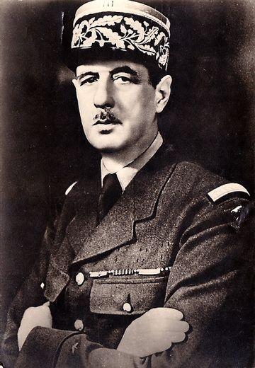 La figure du général de Gaulle ne s'est pas immédiatement imposée en France.