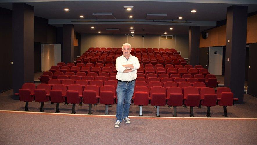 Frédéric Lesage nouveau régisseur du cinéma le Fauteuil Rouge