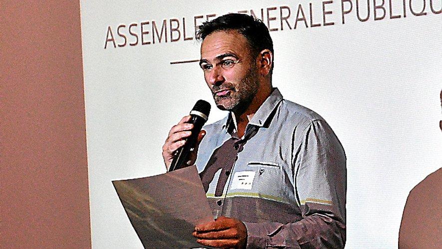 Jérôme Faramond présidela Confédération générale de Roquefort.