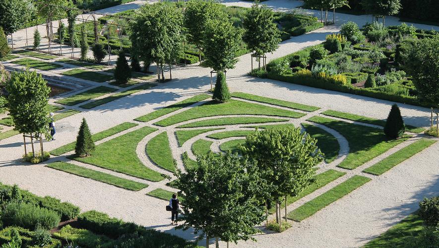Un jardin classé remarquable.