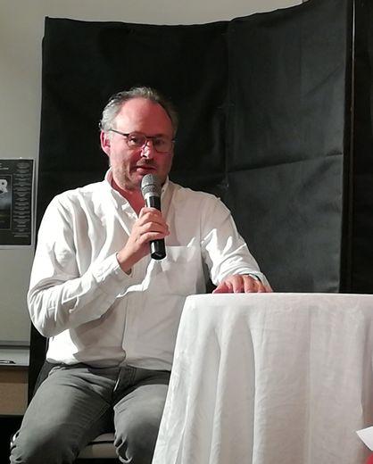 Bertil Scali sera en dédicace à la Maison de la Presse le mardi 11 août.