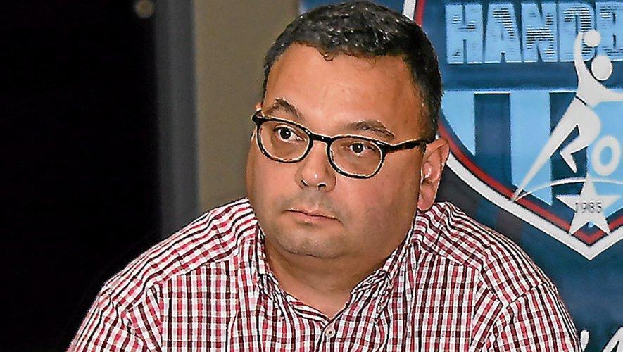 Benoît Courtin, président du Roc Aveyron handball.
