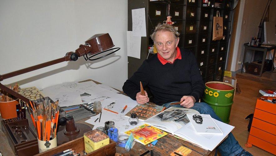 Figure emblématique du Rouergue, où il a créé la collection jeunesse en 1994, le Ruthénois Olivier Douzou en est aujourd'hui le directeur artistique, mais également le responsable des albums jeunesse.