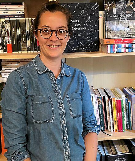 Julie Giroud, responsable des livres illustrés adultes.