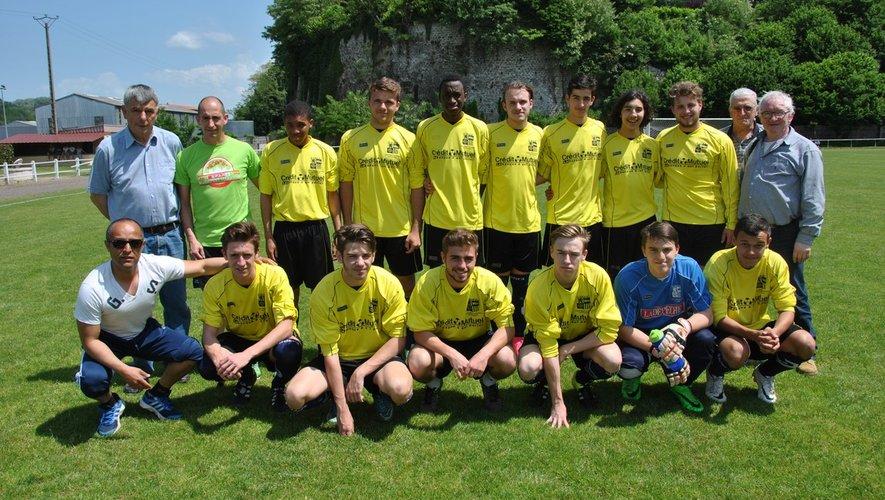 Equipe U19 de l'an 14.