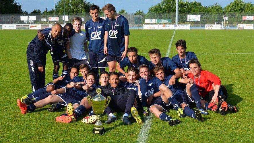 Deuxième victoire consécutive des U17 en coupe de l'Aveyron (an 13 de la JSBA).