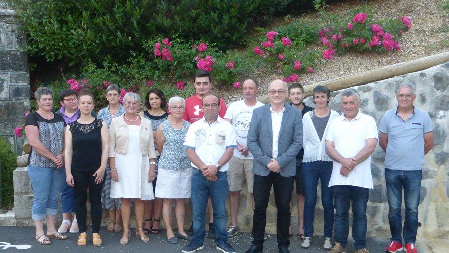 le nouveau conseil municipal s'est réuni le 25 juin.