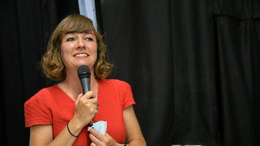 Emmanuelle Gazel, maire de Millau