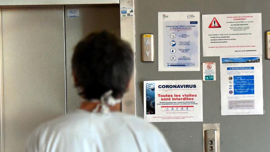 Une nouvelle personne a été admise à l'hôpital de Rodez ce mardi.