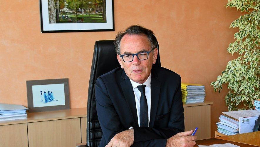 Au lendemain de son succès dans les urnes, Christian Teyssèdre a retrouvé son bureau au 4e étage de l'hôtel de Ville.