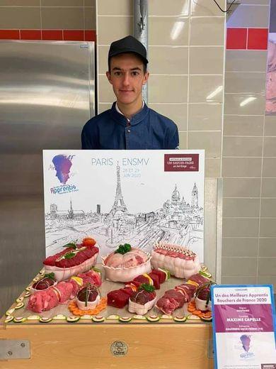 Le concours national a eu lieu ce week-end à l'école nationale supérieure des métiers de la viande, à Paris