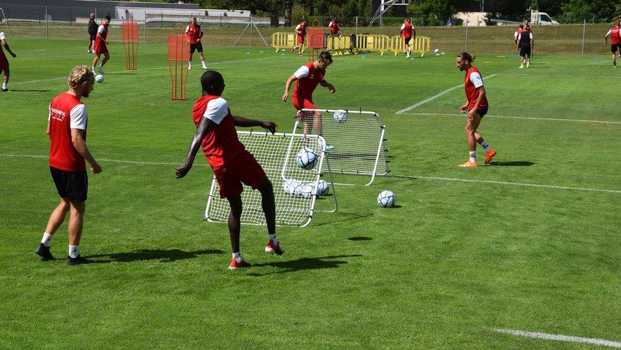 Les joueurs du Raf ont effectué leur première séance d'entraînement vendredi 3 juillet.