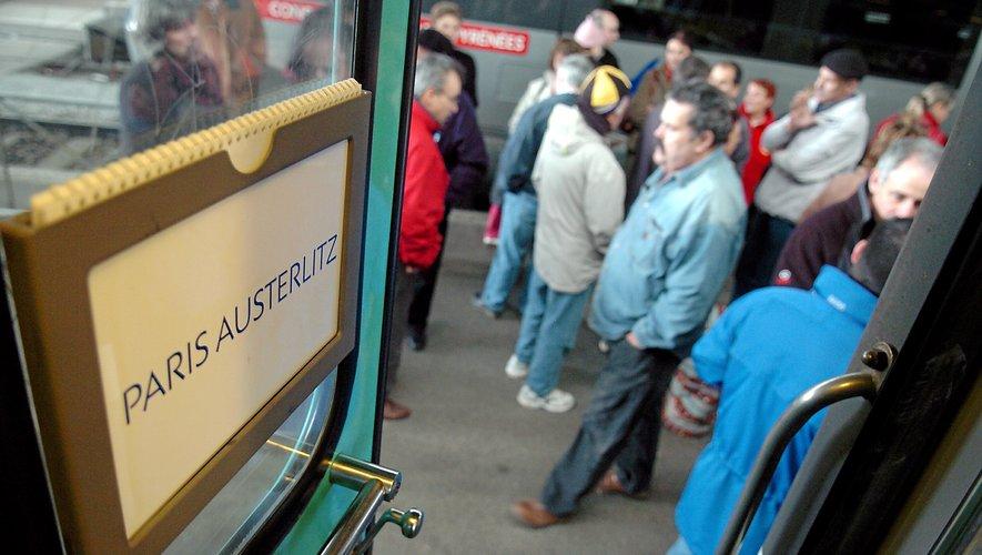 Le train de nuit Paris-Rodez reprend du service ce week-end.